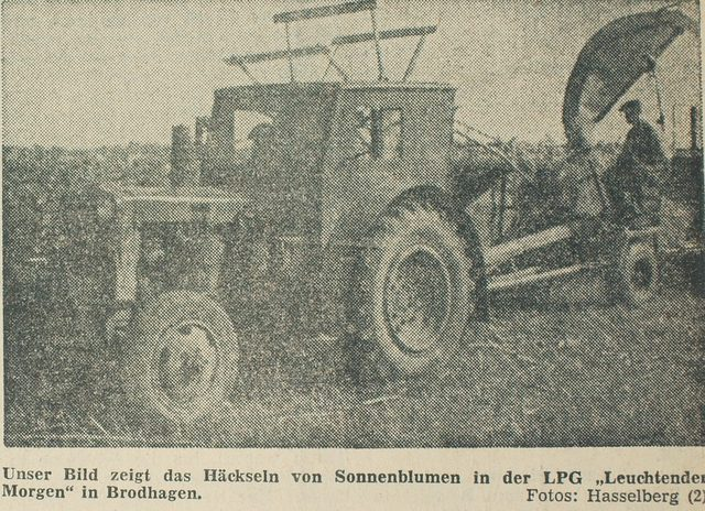 Kreiszeitung: Das neue Dorf von 1960