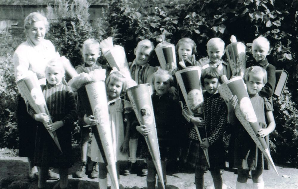 Schule Reddelich, 1957